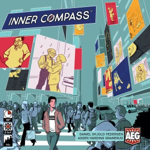 Box art for the Inner Compass board game