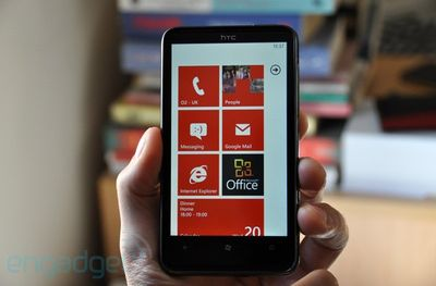 HTC con Windows Phone 7