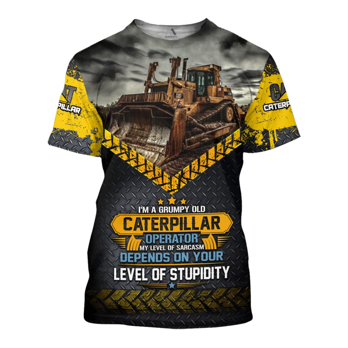 Heavy Equipment 3D All Over Printed Shirts for Men and Women 8