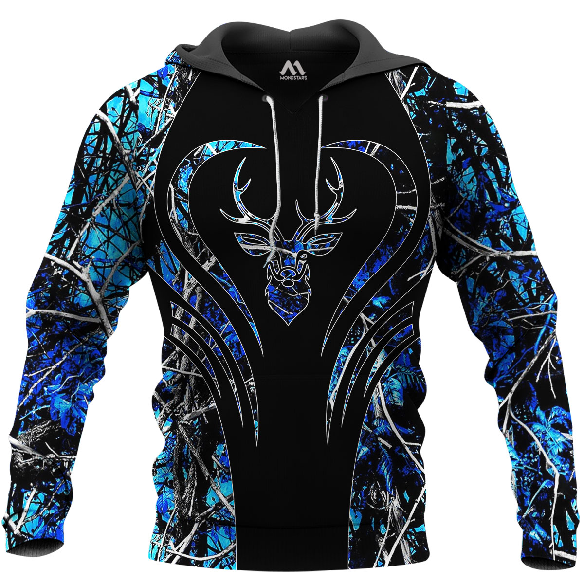 Deer Hunting Camo 3D All Over Printed Shirts for Men and Women 9