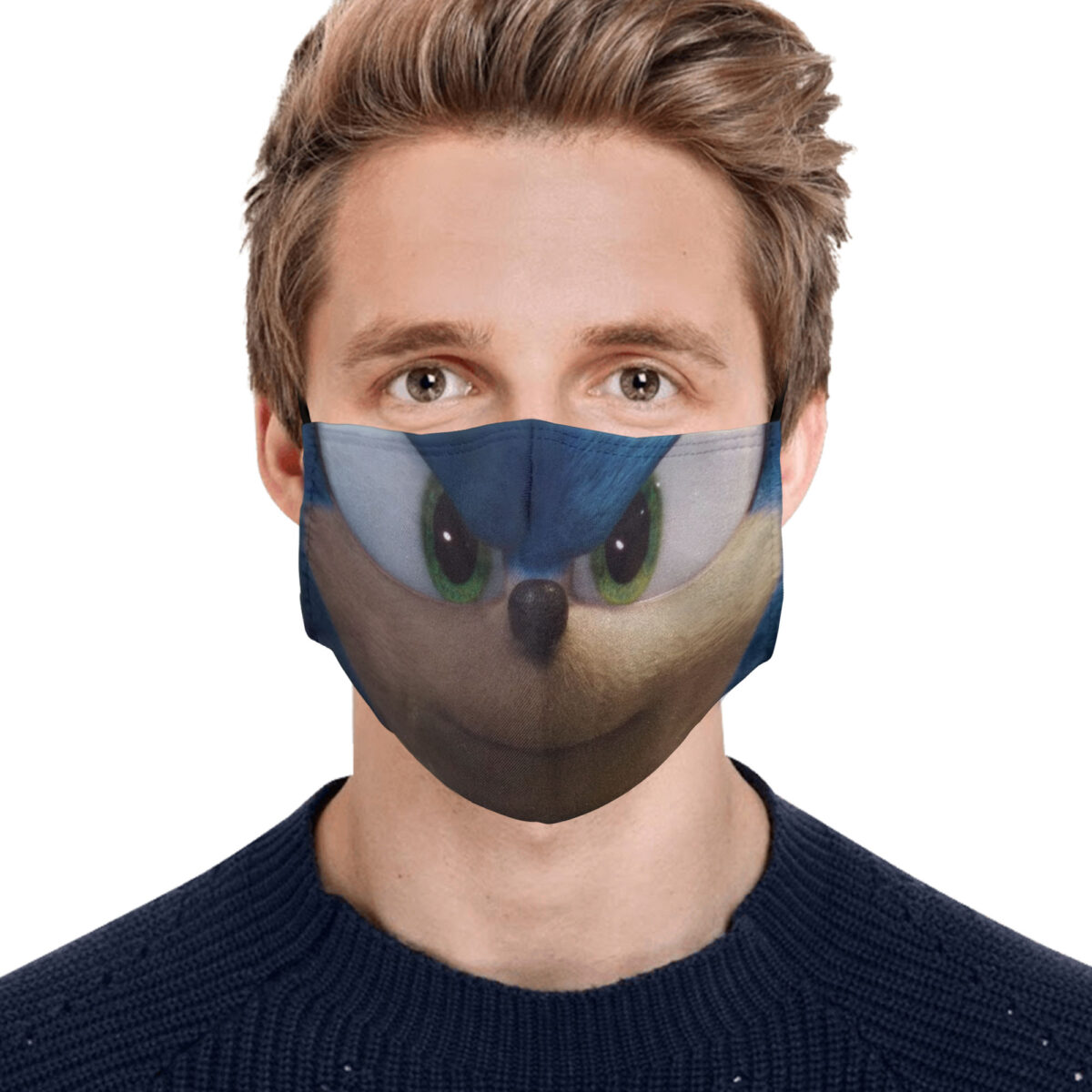 Sonic The Hedgehog Face Mask Gopostore Online Clothing Store