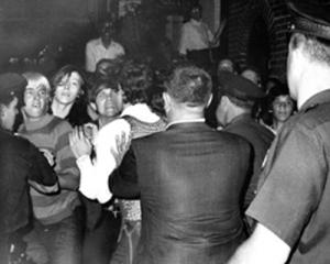 Riots at the Stonewall Inn in 1969 Photo Credit: Joseph H Abrosini