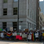 Pro-equality counter-protesters outnumber anti-gay NOM rally attendees in Raleigh
