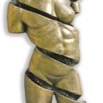 Sculptor challenges stereotypes, gender roles at Charlotte Fine Arts Show