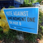 On Amendment One's second anniversary, couples protest, religious right revels