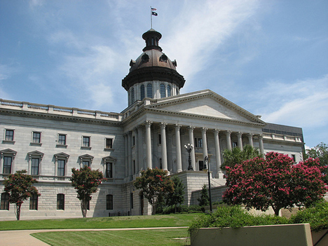 South Carolina State House. Via Flickr, QuesterMark (src). Licensed CC.