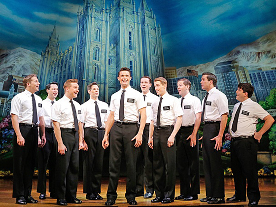 'The Book of Mormon' will come to Charlotte in December and January.  Photo Credit: Joan Marcus