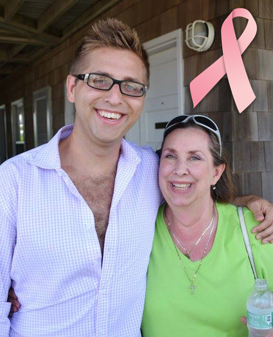 James Miller and his mother, Blair.