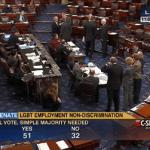 North Carolina senators split during 64-32 ENDA vote