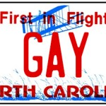 North Carolina's rejected gay-themed license plates