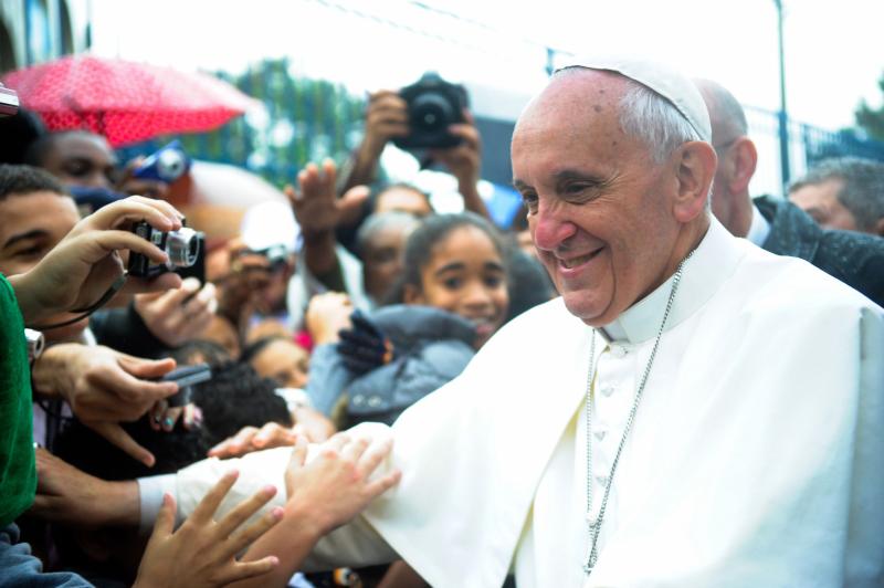Pope Francis. Photo Credit: Tânia Rêgo/Agência Brasil.