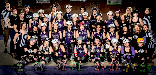 Charlotte Roller Girls Photo Credit: James Dockery