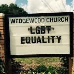 Charlotte church vandalized with anti-gay slurs
