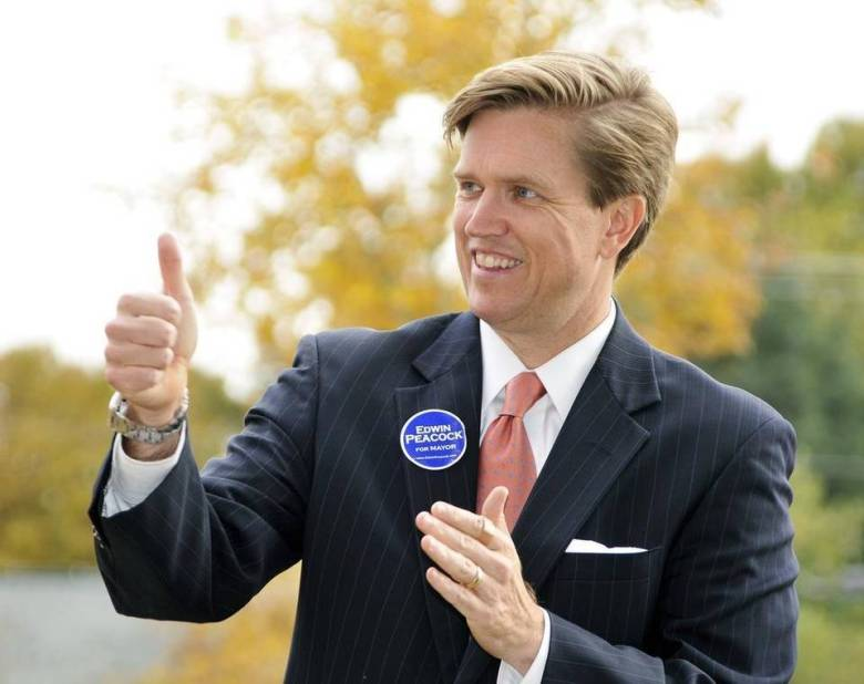 Conservative Republican candidate Edwin Peacock says that he is willing to take more socially progressive stances on LGBT issues over his party members. Photo Credit: Robert Lahser, The Charlotte Observer