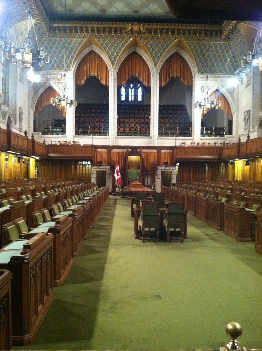 Canadian Parliament. House of Commons