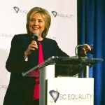 Clinton delivers address at SC Equality dinner