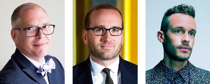 Human Rights Campaign Carolina welcomes (left to right) Activist James Obergefell, HRC President Chad Griffin and entertainer Wrabel to the upcoming gala slated for Feb. 20.