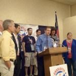 Charlotte: Gay delegate, PFLAG fundraiser, prayer breakfast, band concert, music benefit, vet summit, men's group