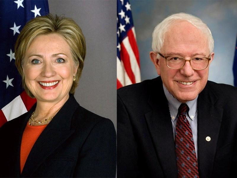 clinton sanders vote