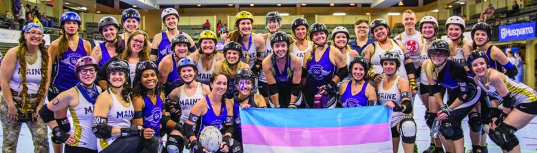 Roller derby is physical and challenging and teams, such as the Charlotte Roller Girls, find it to be rewarding while making friends and doing charitable deeds. Photo Credit: Fotobossi Photography