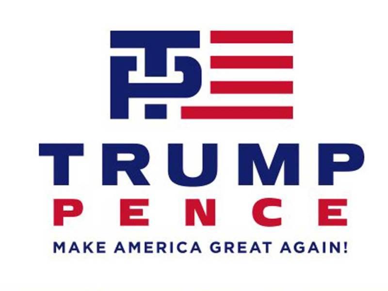 trump pence logo