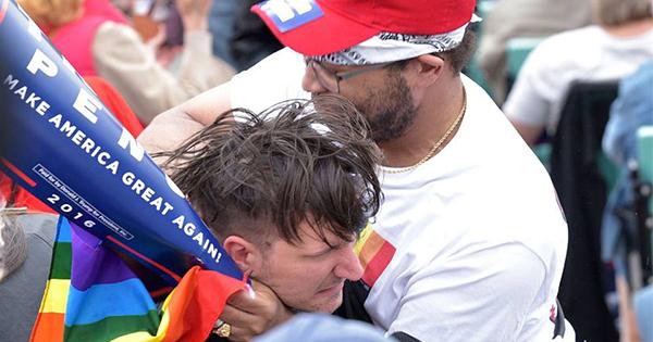 gay trump supporter