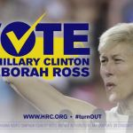 Watch new Hillary Clinton, Deborah Ross LGBTQ equality ad from HRC