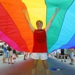 U.S./World: Rainbow Flag Creator, African Decent Conference