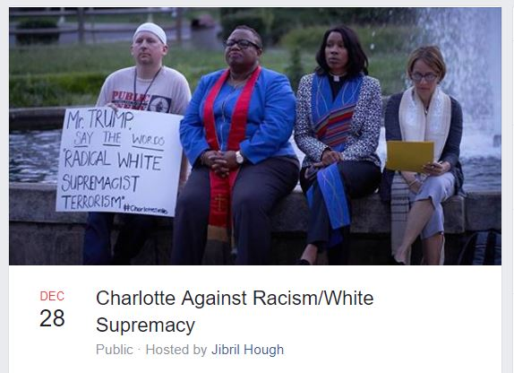 charlotte against racism rally