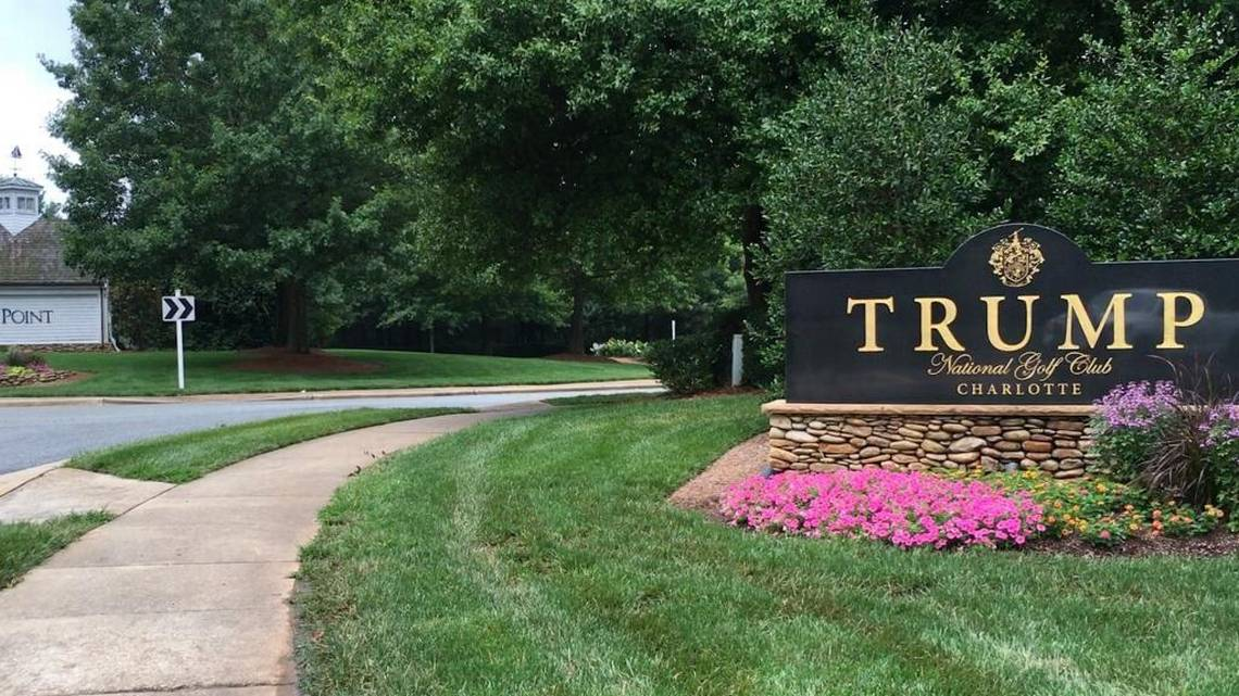 trump golf club
