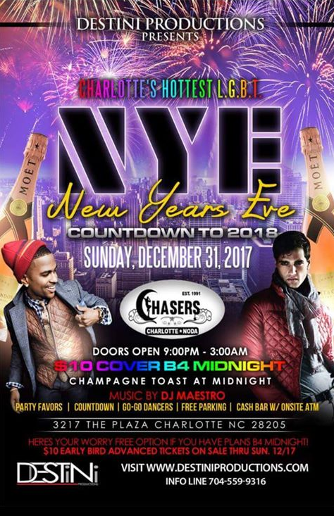 Chasers New Year's Eve