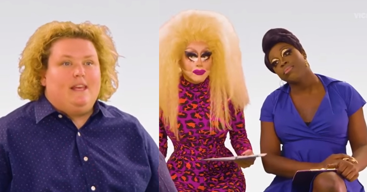 Fortune Feimster Trixie Mattel Bob the Drag Queen