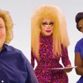 featured image Trixie Mattel and Bob the Drag Queen interview Fortune Feimster and it's hilarious