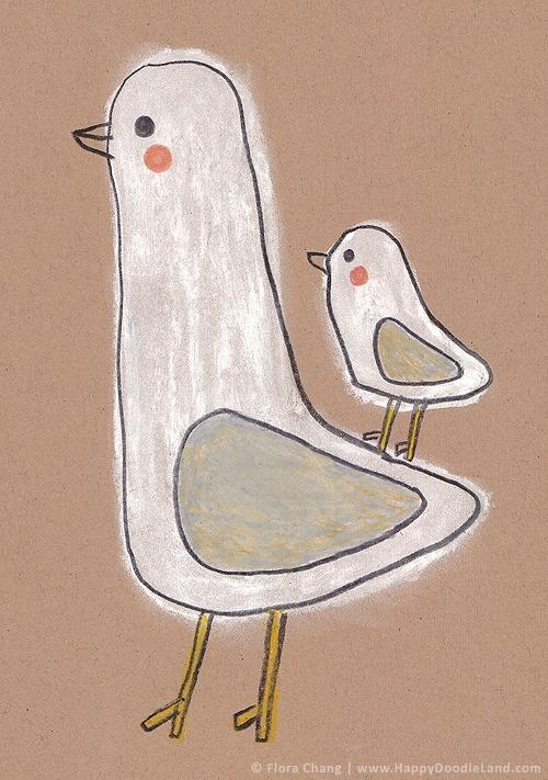 Flora Chang Seagulls