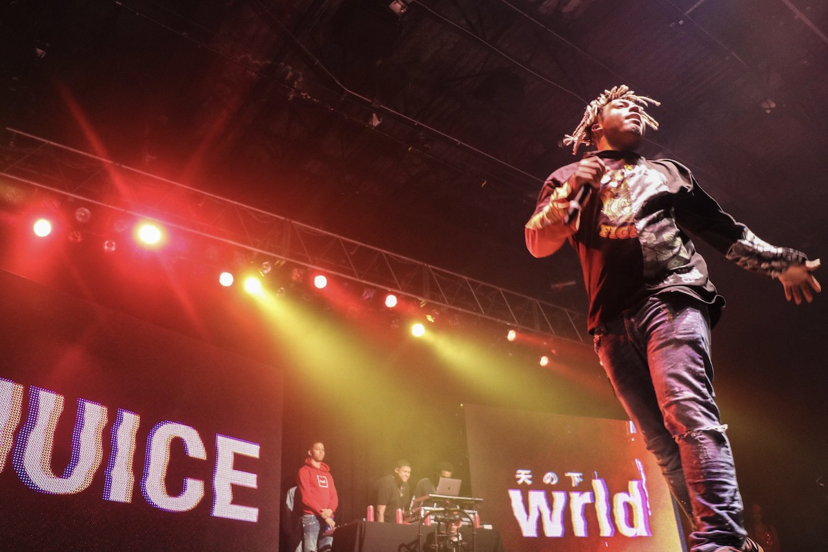 Juice WRLD Makes Waves, Announcing North American Tour with