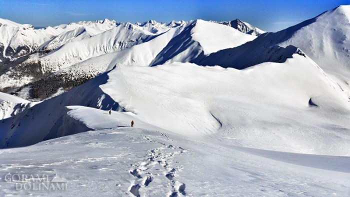 Tatry Zachodnie, Starorobociański Wierch zimą