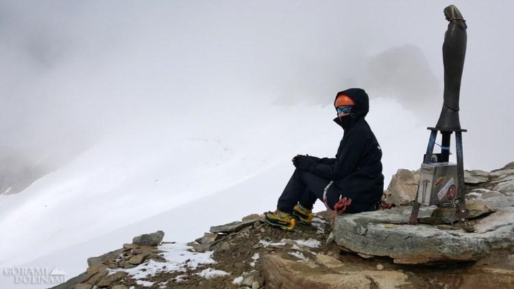Na szczycie Punta Giordani