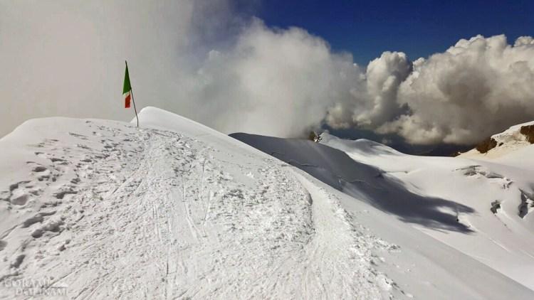 Szczyt Punta Gnifetti / Signalkuppe
