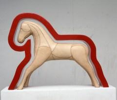 Läderhäst - Galleri Blanch, 1990