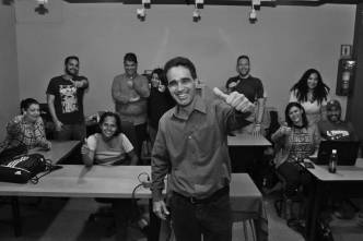 Grupo de participantes 1ra Edición del Taller de Podcasting