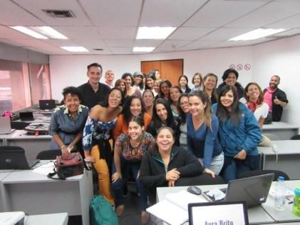 Grupo de participantes de la 2da edición del Canva WorkShop