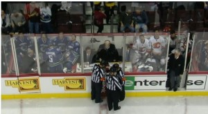 Full Penalty Box Canucks/Flames