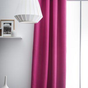 Kant en Klaar Gordijn Verduisterend Roze - 140cm x 260cm