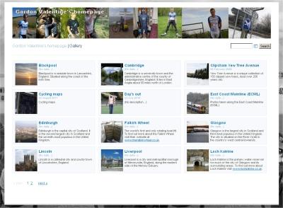 Gordon Valentine's homepage   Gallery