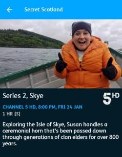 Secret Scotland - 24-01-2020 - YouView app