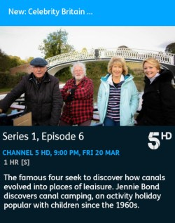 Britain by Barge - 20-03-2020 - YouView app