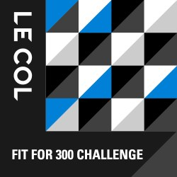 Le Col Fit for 300 Challenge