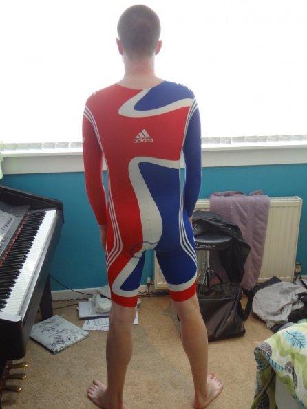 Team GB Lycra skinsuit
