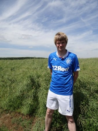 Rangers Home Shirt 2014-2015