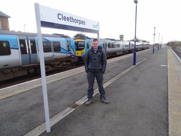 Myself at Cleethorpes railway station
